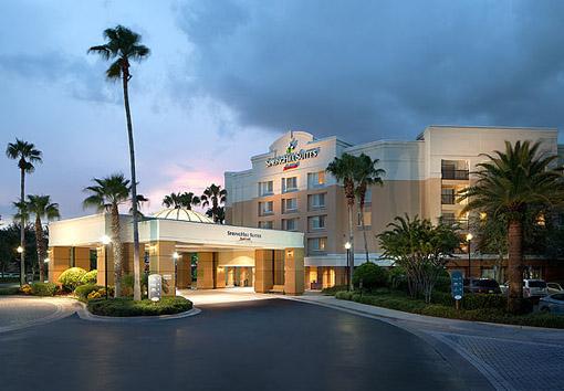 SpringHill Suites by Marriott Orlando Lake Buena Vista entrada