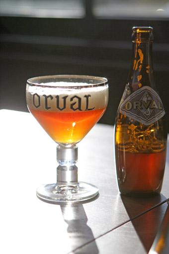 Garrafa taca Orval