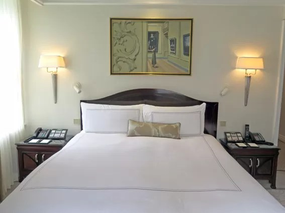 The Peninsula NY - suite cama