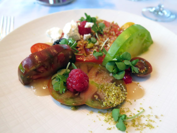 Tomato Salad - Restaurante Asiate Mandarin Oriental