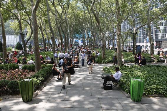 Bryant Park - Imagem http://www.nycgo.com