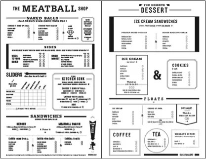 menu meatball