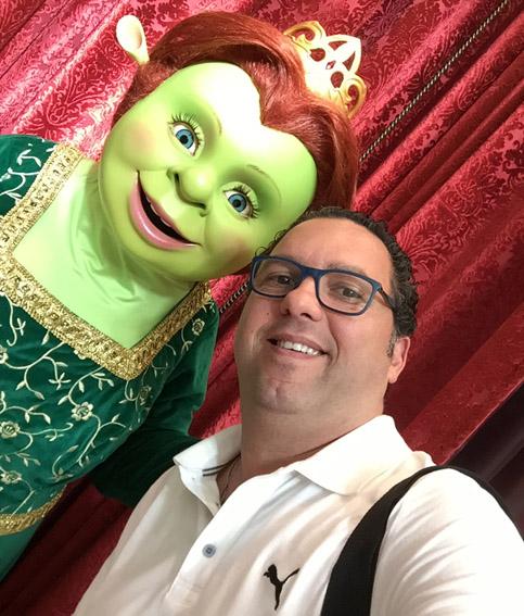 Eu e a Fiona