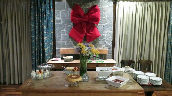 Hotel Vila Inglesa buffet doces