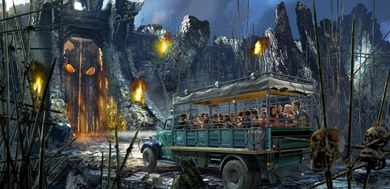 King Kong no parque Islands of Adventure