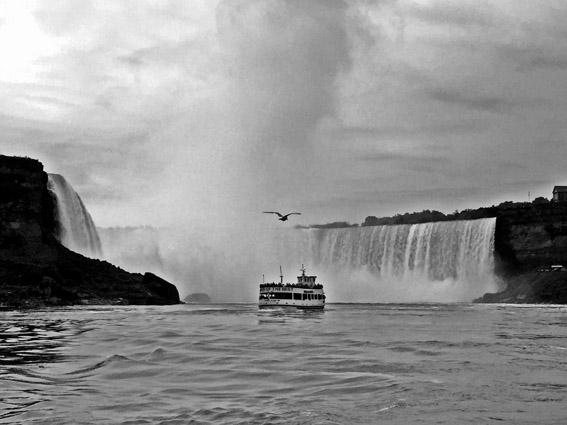 Niagara Falls de barco