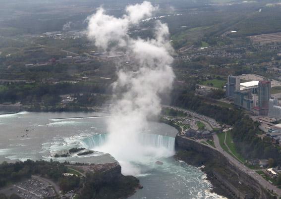 Niagara Falls de helicoptero