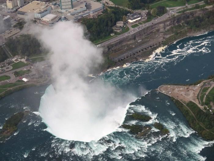 Niagara Falls do alto