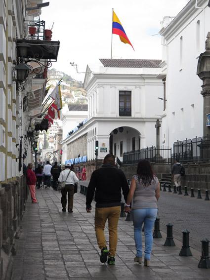 Centro Historico Palácio de Carondelet