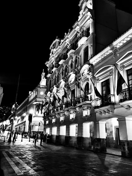 Centro Historico a noite