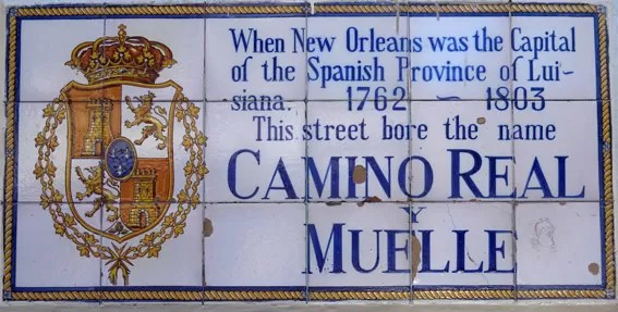 Placa New Orleans
