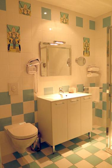 Banheiro Suite Hotel de lAbeille