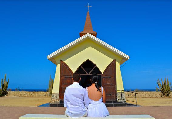 Casamento na Capela Alto Vista em Aruba - Credito ATA