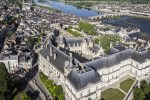 Vue aerienne Chateau Royal de Blois - J. David