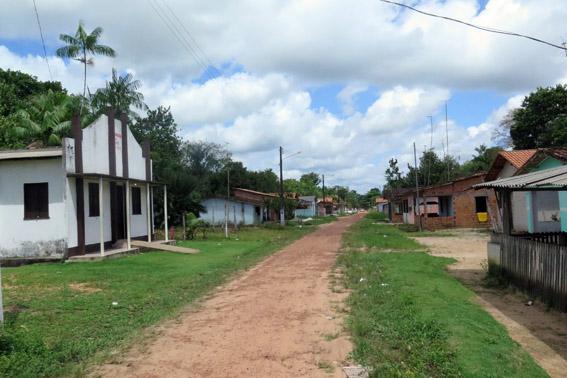 Rua em Santo Antonio do Tauá