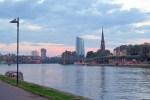 Rio Main ponte Frankfurt