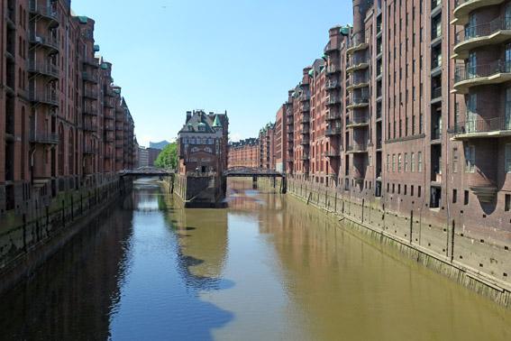 Poggenmuhlencrucke Speicherstadt Hamburgo
