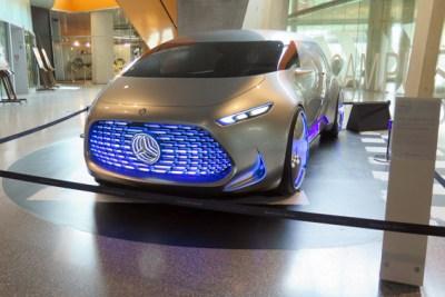Protótipo no Museu da Mercedes-Benz Stuttgart