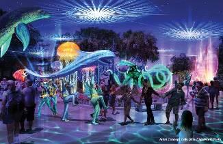 Electric Ocean, no SeaWorld Orlando