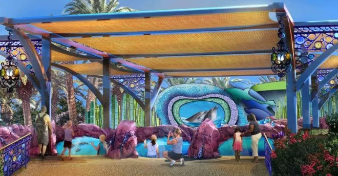Dolphin Nursery Long View SeaWorld Orlando