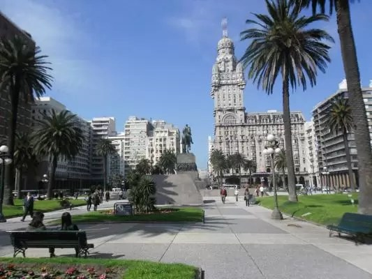 Plaza da Independencia Montevideo