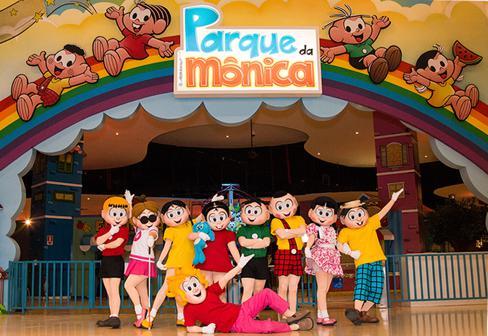 Parque da Mônica SP com criança