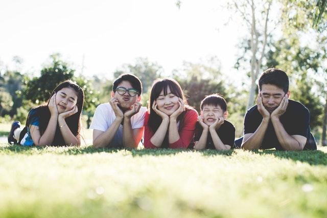Familia no Parque