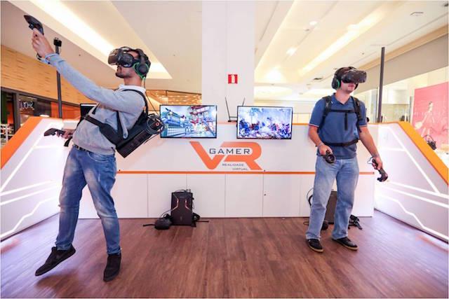 VR GAMER - Arena Itinerante