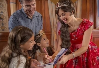 Princess Elena of Avalor at Princess Fairytale Hall