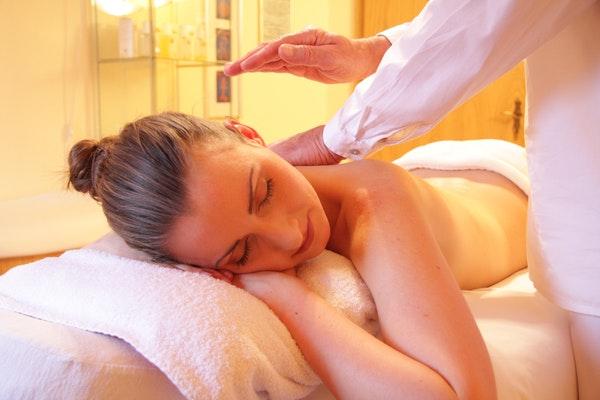Mulher massagem SPA