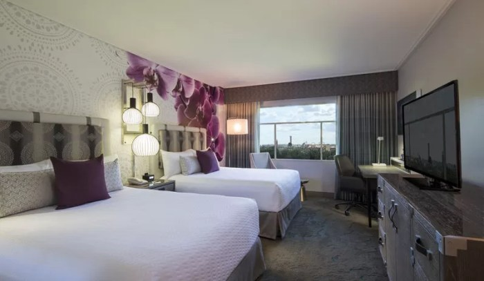 Universals Royal Pacific rooms
