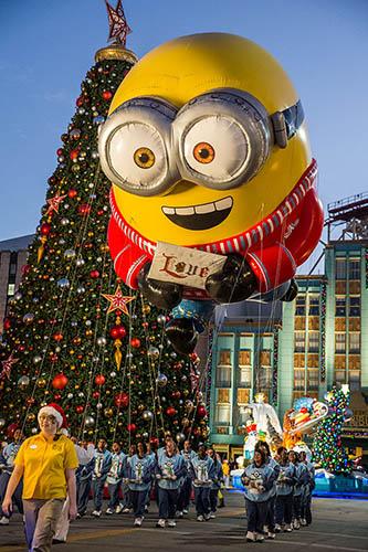 Natal na Universal parada