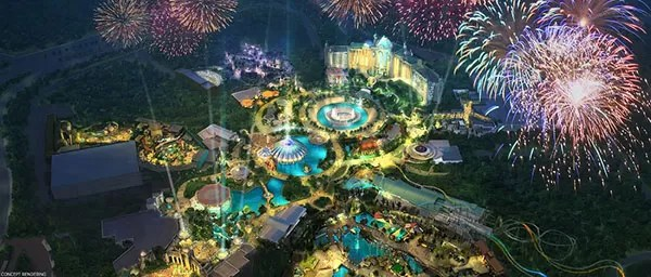 Novo parque Universal