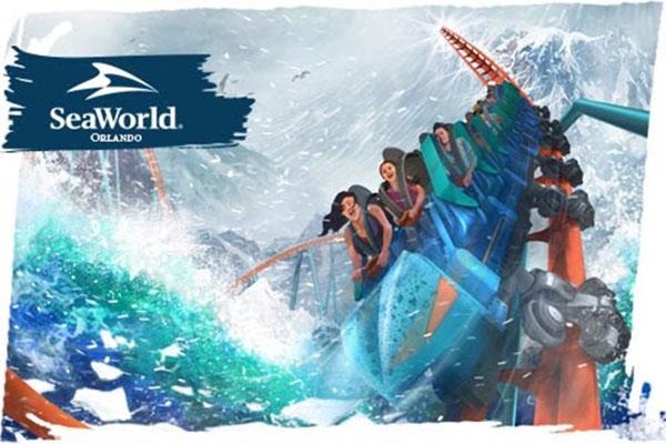 Ice Breaker SeaWorld Orlando