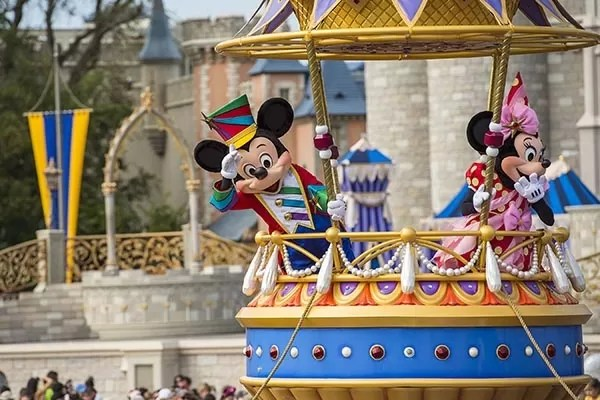 Parada Magic Kingdom