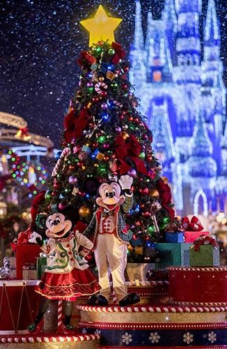 Ver o Mickey na Disney, Natal
