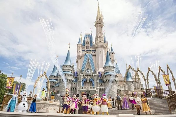 Mickey no Castelo