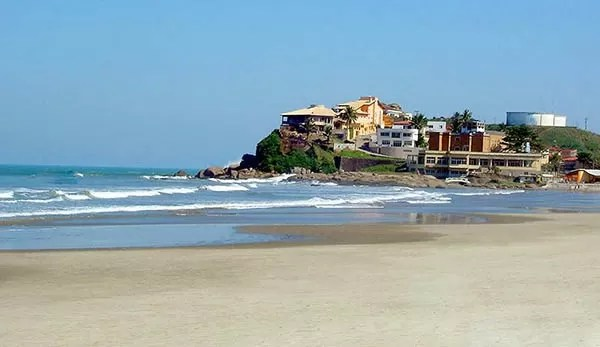 praias em Itanhaém