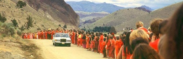 Osho Rajneesh Rolls Royce and Devotees