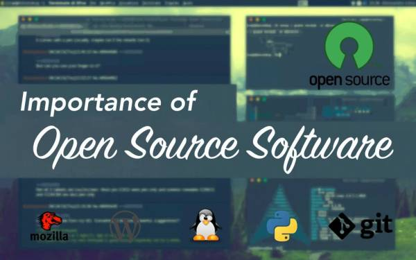 The Importance of Open Source Software