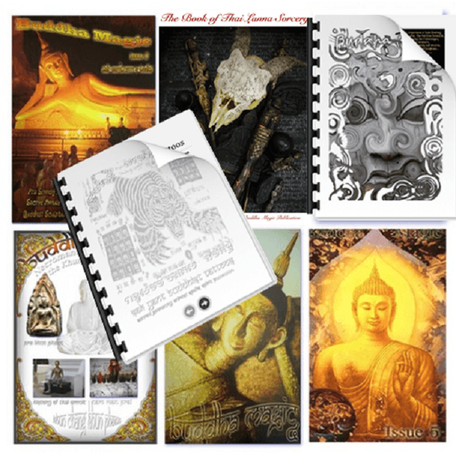 sak yant and buddha magic 7 issue mega pack