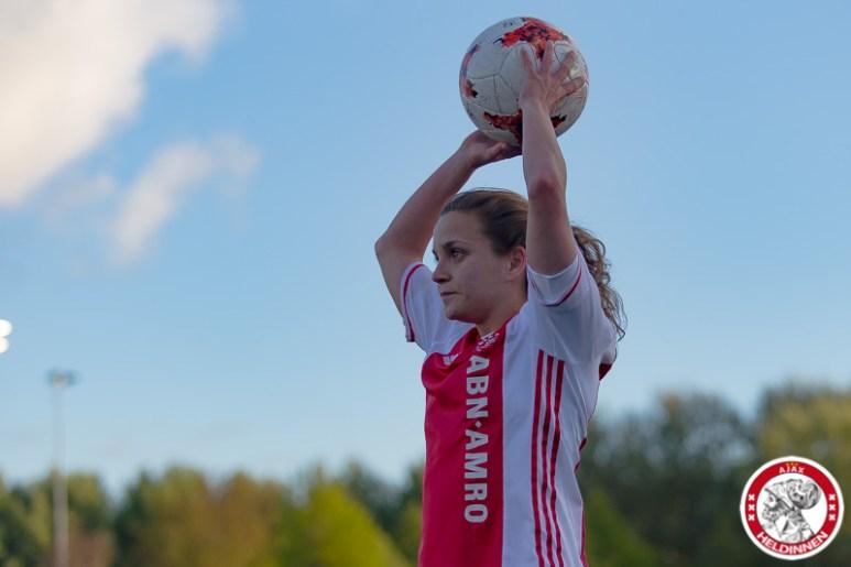 28-04-2017: Voetbal: Vrouwen Ajax v PSV: Amsterdam Davina Philtjens of Ajax