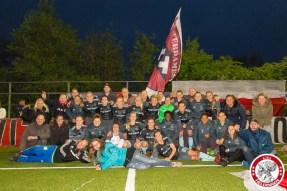05-05-2017: Voetbal: Vrouwen FC Twente v Ajax: Enschede Groepsfoto Ajax met Supporters