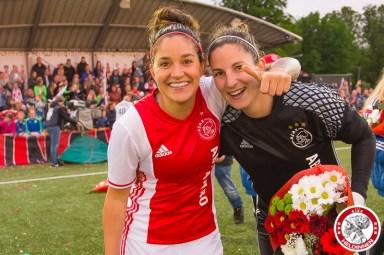 19-05-2017: Voetbal: Vrouwen Ajax v ADO den Haag: Amsterdam Ajaxvrouwen kampioen vrouwen eredivisie 2016-2017