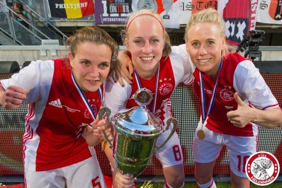 2017-06-03 Bekerfinale Ajax vrouwen - PSV- 00022