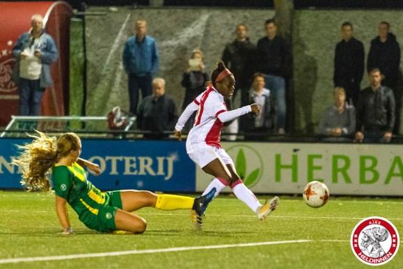 2017-09-22 Ajax vrouwen - Ado den Haag- 00010