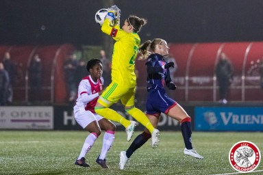 2018-01-26 Ajax vrouwen - VV Alkmaar- 00008