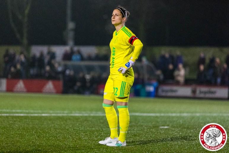 2018-01-26 Ajax vrouwen - VV Alkmaar- 00009