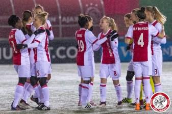 2018-02-09 Ajax vrouwen - Excelsior Barendrecht- 00004