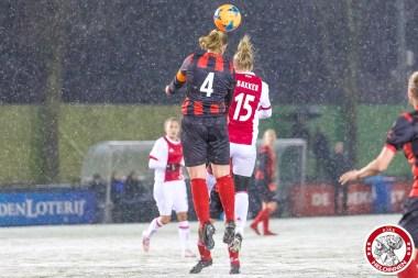 2018-02-09 Ajax vrouwen - Excelsior Barendrecht- 00015